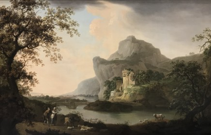 James Lambert of Lewes, A river landscape