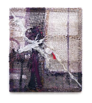 Fabian Marcaccio, Ghost Paintant, 2017