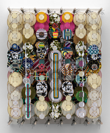 Jacob Hashimoto, The Ambition and Truth About Stars, 2021