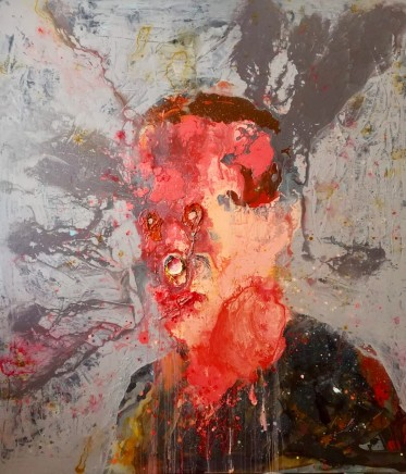 Petri Ala-Maunus, An Attempt to Paint a Self-portrait I, 2018