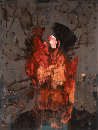 Petri Ala-Maunus, Self-portrait of a Painter IIII, 2018