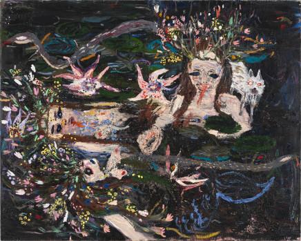 Eeva Peura, Nymphs (Carol Rama Lake), 2018