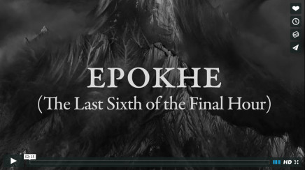 Epokhe (The Last Sixth of the Final Hour) | video, 2016/2017