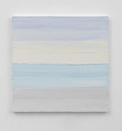 Jason Martin, Untitled (Old Holland blue deep / Carribean blue / Sepia) , 2019