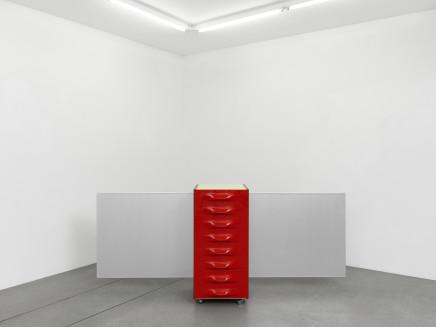 John Armleder, Stand(RL), FS, 2008