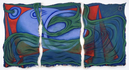 Elizabeth Murray, Red Corner, 1999