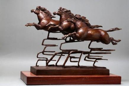 Huang Yongyu 黃永玉, Horse 馬, 2014