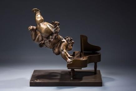 Xu Hongfei 許鴻飛, Flying Piano 飛琴, 2015