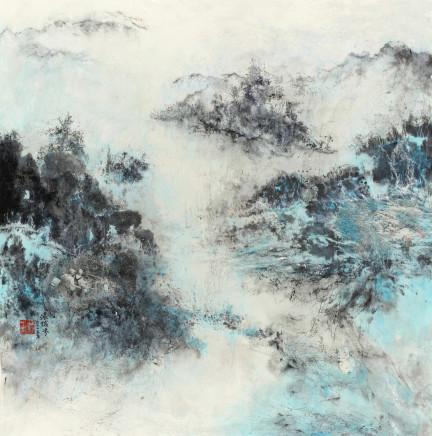 Pryde, Nina 派瑞芬, Green Sea Blue Sky 1 碧海青天 《一》, 2015