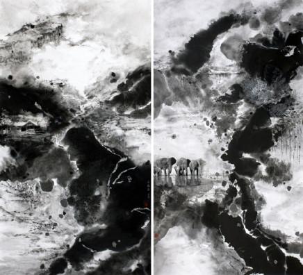 Pryde, Nina 派瑞芬, Morning Mists in Autumn 4 秋日的迷霧《四》, 2009