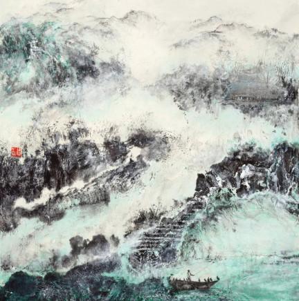 Pryde, Nina 派瑞芬, Green Sea Blue Sky 2 碧海青天 《二》, 2015