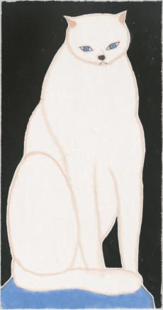 Liu Qi 劉琦, White Cat 白石 , 2019