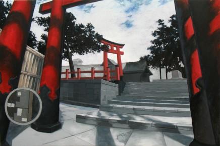 Wong, Stephen Chun Hei 黃進曦, Inside the Torii 在鳥居中, 2009
