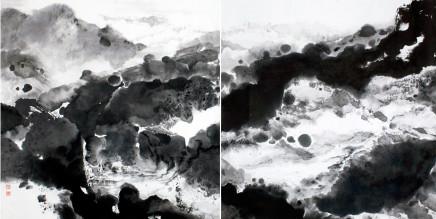 Pryde, Nina 派瑞芬, Appearing one moment 3 山色有無中《三》, 2008