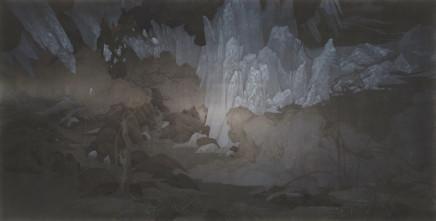 Xiao Xu 蕭旭, Pure Mountain Stream 溪山玉露, 2017