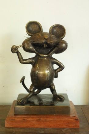 Huang Yongyu 黃永玉, Happy Rat 鼠, 2007
