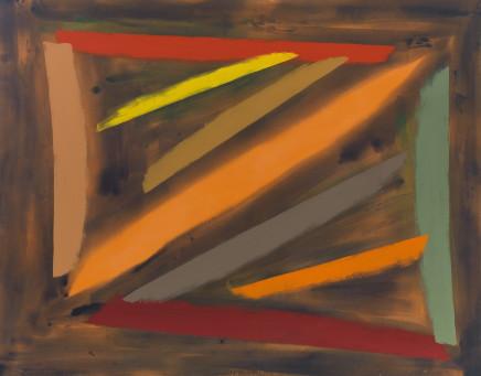 John McLEAN 约翰·麦克林, Batoche(Homage to GR and MM) 巴托西(向GR和MM致敬), 1989