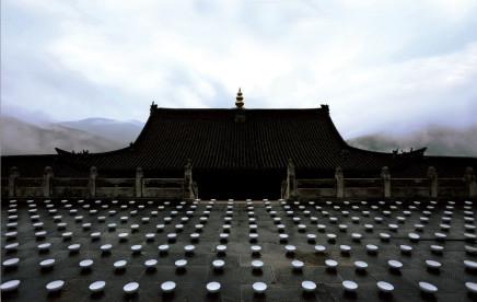 ZHANG Yu 张羽, Water Feeding - Youguo Temple, Wutai Mountain 上水-五台山佑国寺, 2016