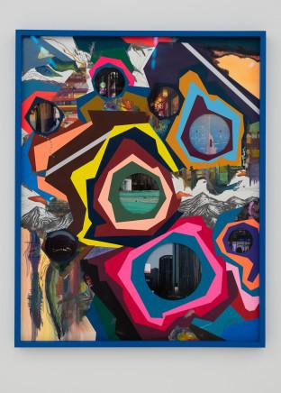 Franz ACKERMANN 艾稞曼, Behind the Hills Ⅱ 越过山丘 2, 2019
