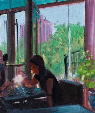 ZHANG Jian 章剑, café 咖啡厅, 2018