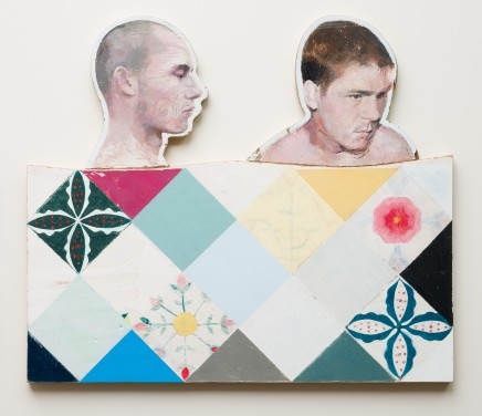 Simon Turner, The Counterpane (Queequeg and Ishmael), 2016