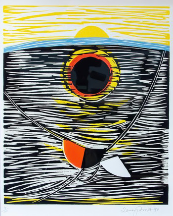 Sir Terry Frost RA, Trewellard Sun #2, 1990