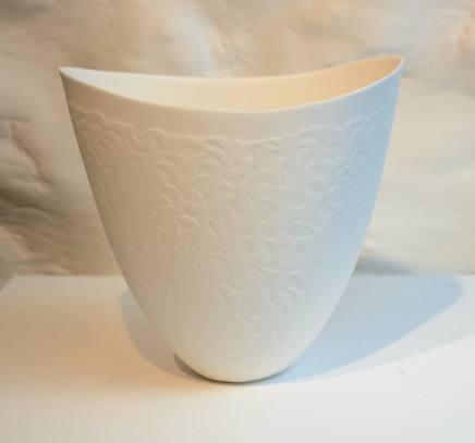 Sasha Wardell, Sand Coral Vase, 2018
