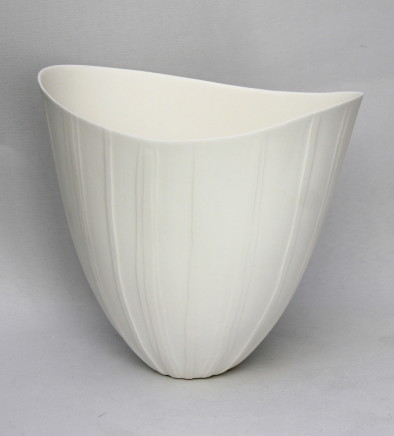 Sasha Wardell, Medium Ripple Vase, 2017