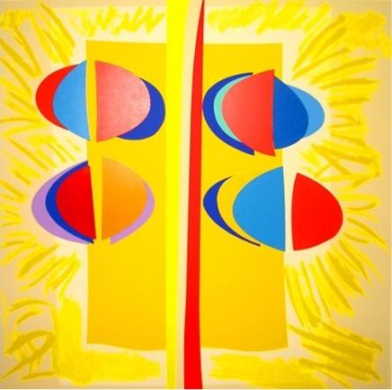 Sir Terry Frost RA, Carlyon Sunshine, 2003