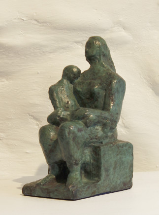 Margaret Lovell D.Litt. Hon FRBS RWA, Mother and Child, 1957 (conceived)