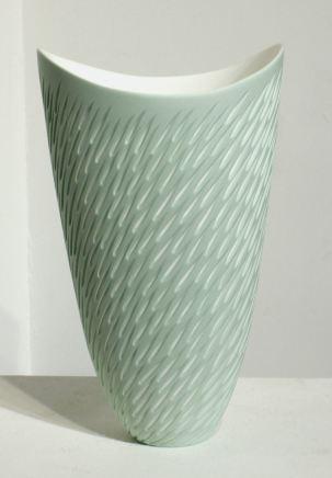 Sasha Wardell, Green Shoal Vase , 2017