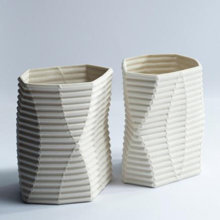 Keith Varney, Enfold 4 - pair, 2016