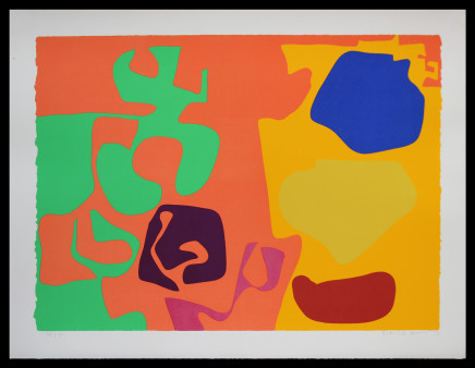 Patrick Heron CBE, January 1973 : 10, 1973