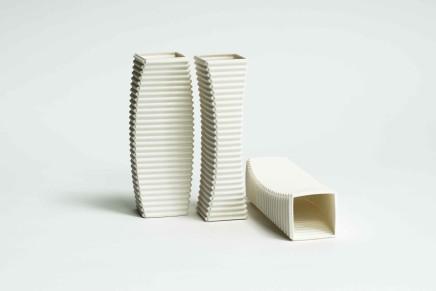 Keith Varney, Concave Convex-set of 3 pieces, 2018
