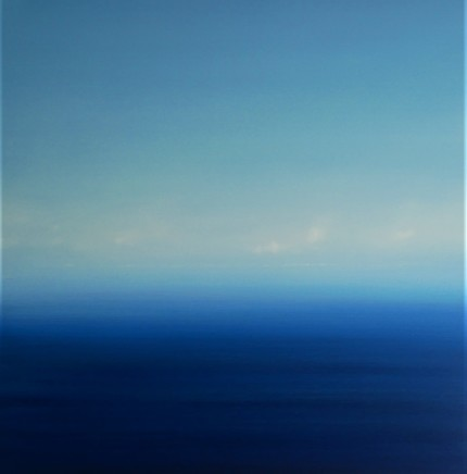 Martyn Perryman, Blue Tranquility St Ives Bay 1, 2020