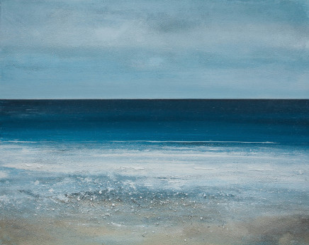 Calm on the White Sand , 2017