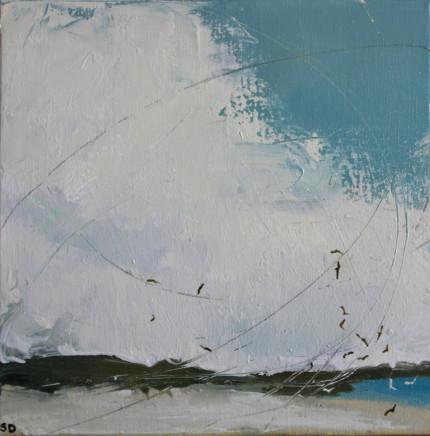 Sara Dudman RWA, Seabirds (Great Bay St Martin's) Study 4, 2019