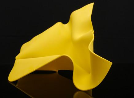Lisa Pettibone, Yellow Fold 1, 2019