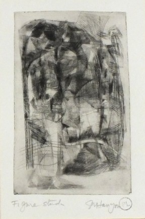 Peter Lanyon, Figure Study, c. 1958