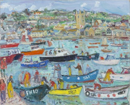 <span class=%22title%22>Harbour Life, St Ives Summer</span>