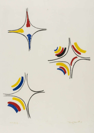 Sir Terry Frost RA, Easter (Kemp 34), 1966