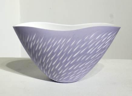 Sasha Wardell, Lavender Shoal Vase , 2017