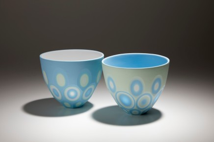 Sasha Wardell, Medium Space Bowl Blue/Green, 2020