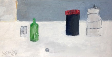 Craig Underhill, Green Bottle and Pots, 2014