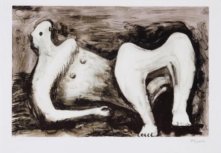 Henry Moore OM CH, Reclining Figure Arch Leg, 1979