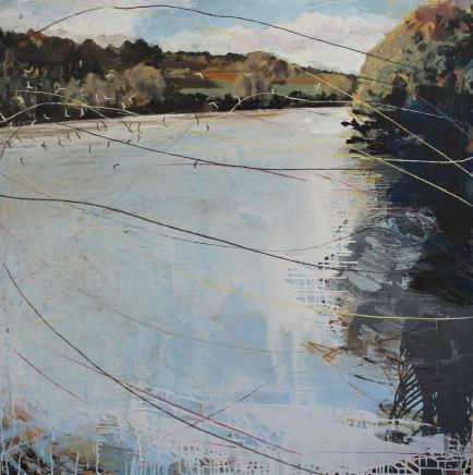 Sara Dudman RWA, Herring Gulls (Helford River) 2, 2020