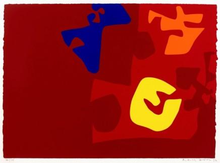 Patrick Heron, Untitled Composition from The Rothko Portfolio, 1972