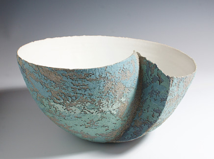 Clare Conrad, Large Bowl with Inset, 2018