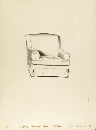 David Hockney OM CH RA, Slightly Damaged Chair, Malibu, 1973