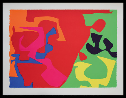 Patrick Heron CBE, January 1973 : 7, 1973